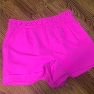 Pants - Hot Pink Boutique high waisted shorts